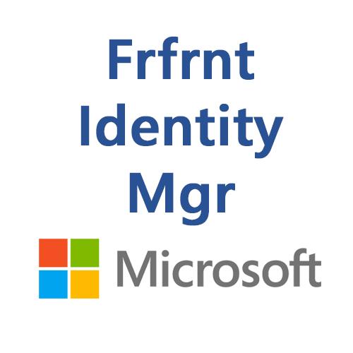 Frfrnt Identity Mgr