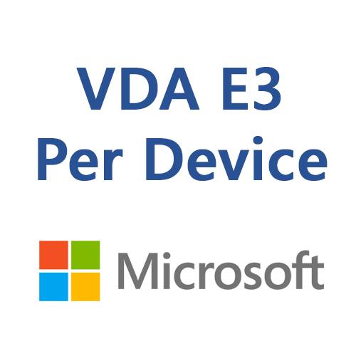 VDA E3 Per Device