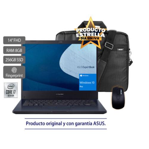 ASUS EXPERTBOOK B2451FA INTEL CORE I7 8GB 256GB SSD WIN10PRO - 90NX02N1-M02180 Día sin IVA