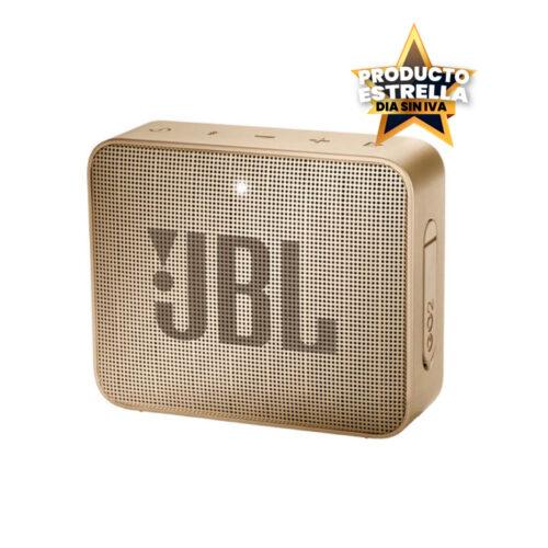 JBL SPEAKER GO 2 BT CHAMPAN PERLA IMPERMEABLE - JBLGO2CHAMPAGNEAM Día sin IVA