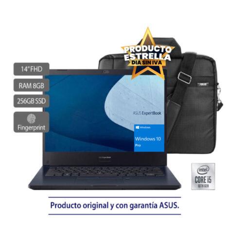ASUS EXPERTBOOK B2451FA INTEL CORE I5 8GB 256GB WIN10PRO - 90NX02N1-M02830 Día sin IVA