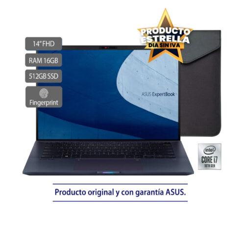 ASUS EXPERTBOOK B9450FA INTEL CORE I7 16GB 512GB WIN10PRO AZUL -90NX02K1-M02770 Día sin IVA
