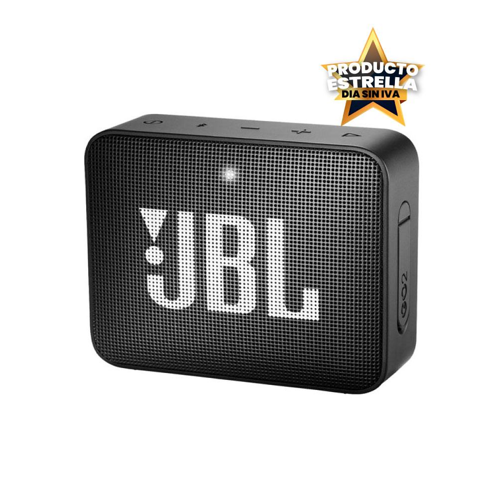JBL SPEAKER GO 2 BT NEGRO IMPERMEABLE - JBLGO2BLK Día sin IVA